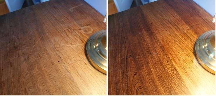 ahşap mobilya temizliği