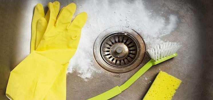 lavabo temizlemek
